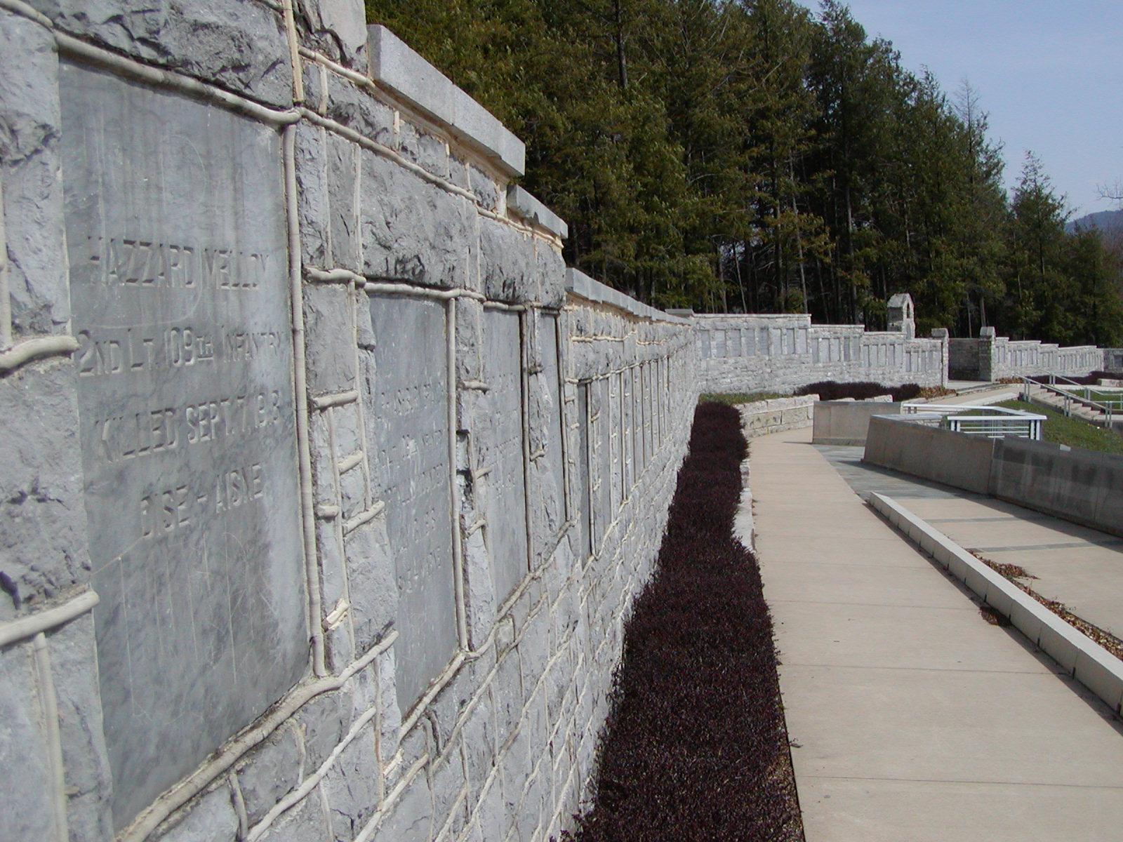 WWI Memory Wall Credit Military Museum.JPG