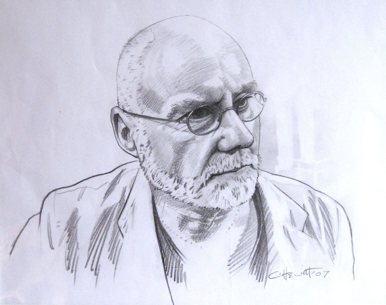 'Don' sketch for portrait.