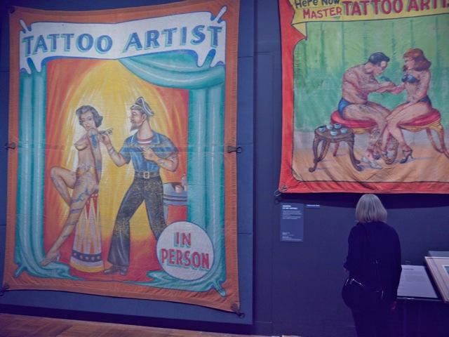 Circus sideshow banners