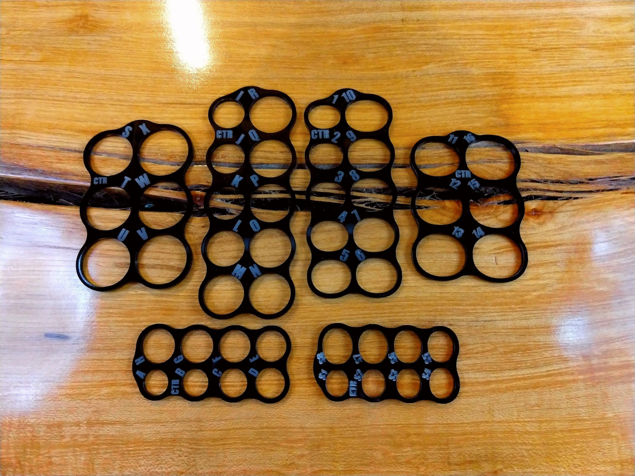 Custom Thumb Rings bespoke ring sizers - the full line