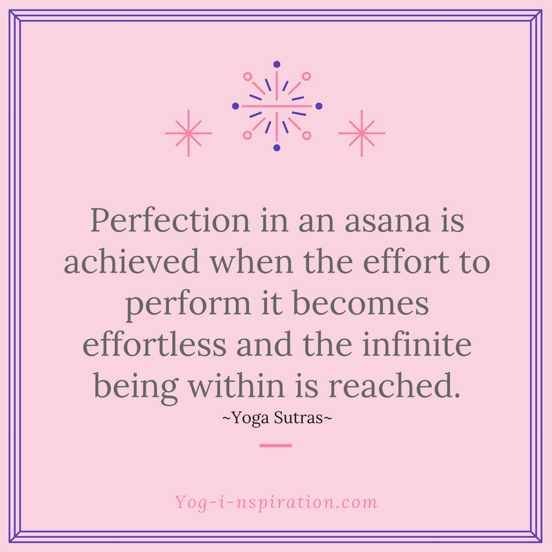 Effortless Asana Quote