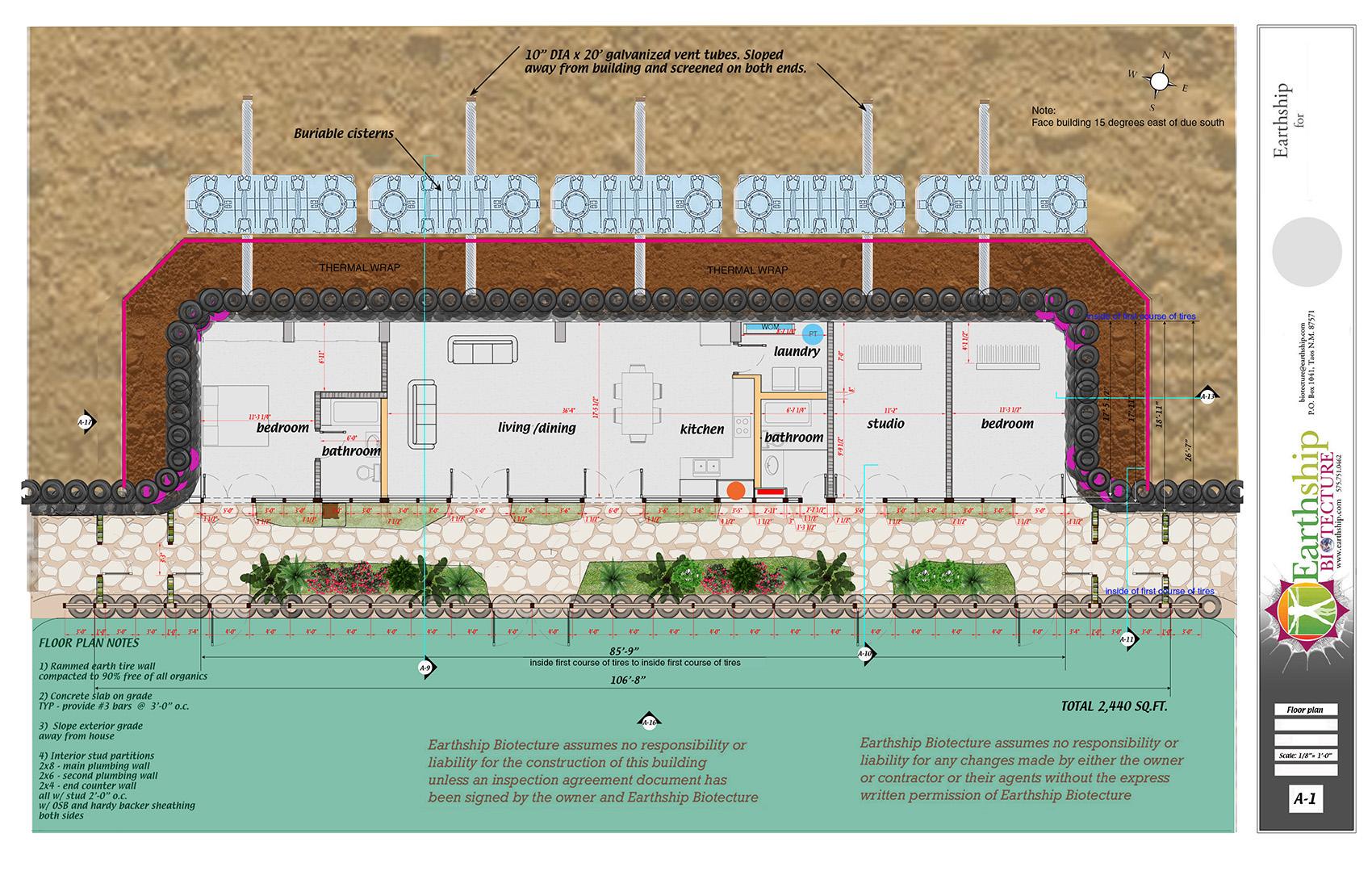 3 BEDROOMS/ 2 BATHROOMS/ WIDE GREENHOUSE