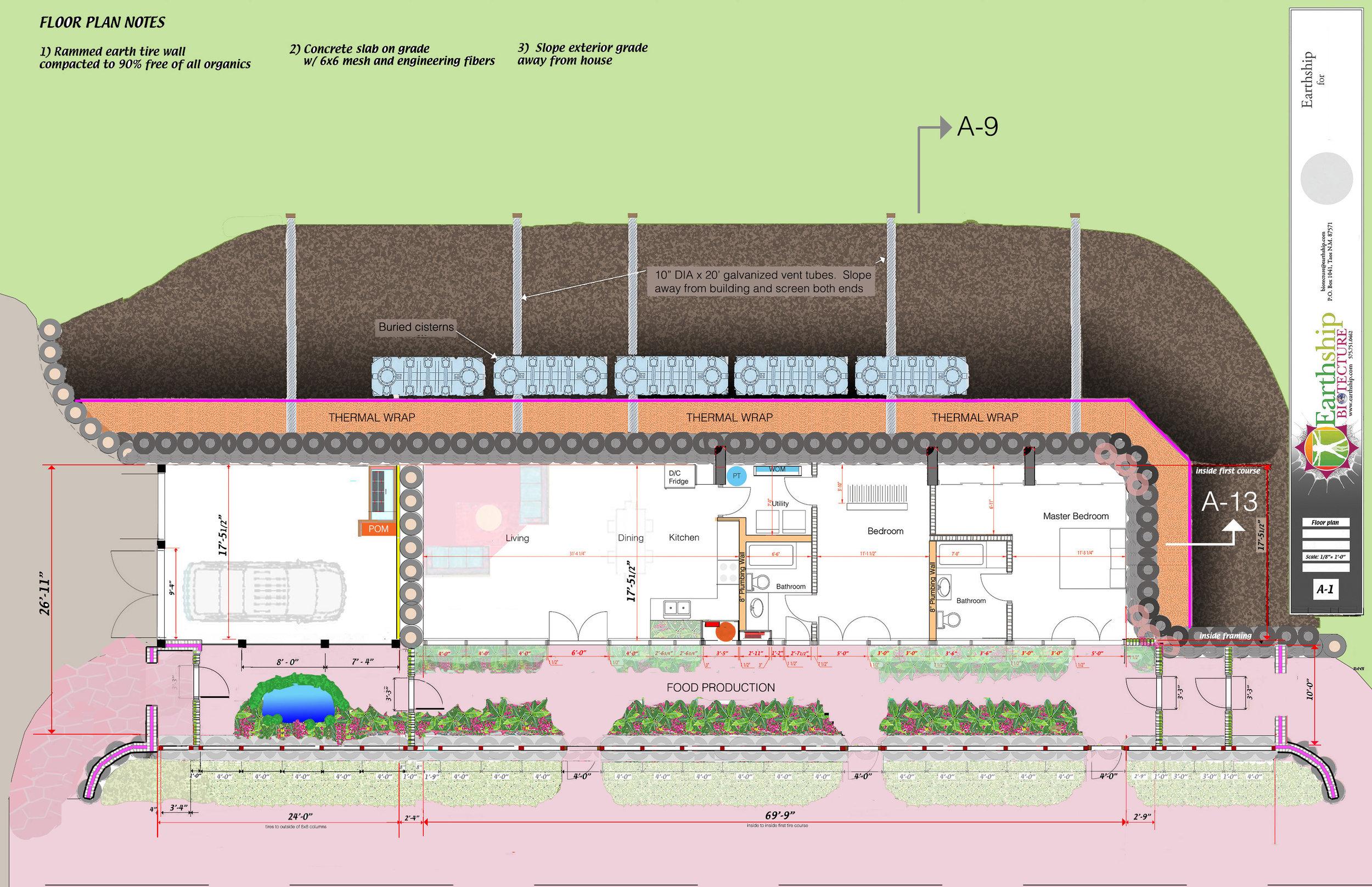 2 BEDROOMS/ 2 BATHROOMS/ GARAGE/ WIDE GREENHOUSE