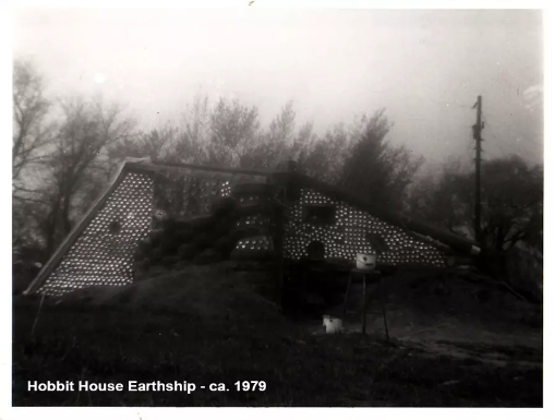 This was the first Earthship ever made in 1979, now refurbished!