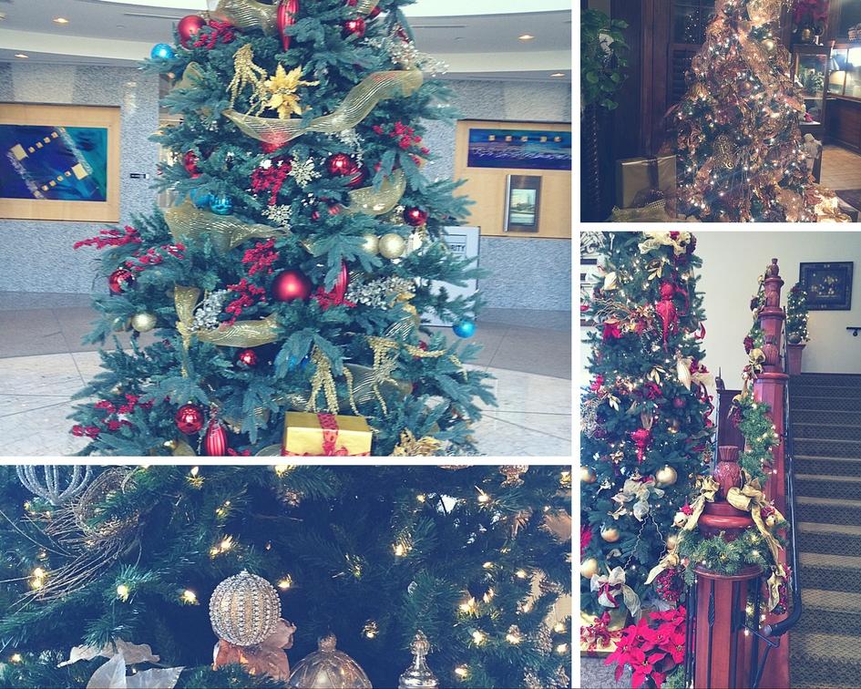 Emerald Isle interiors llc Holliday tree collage