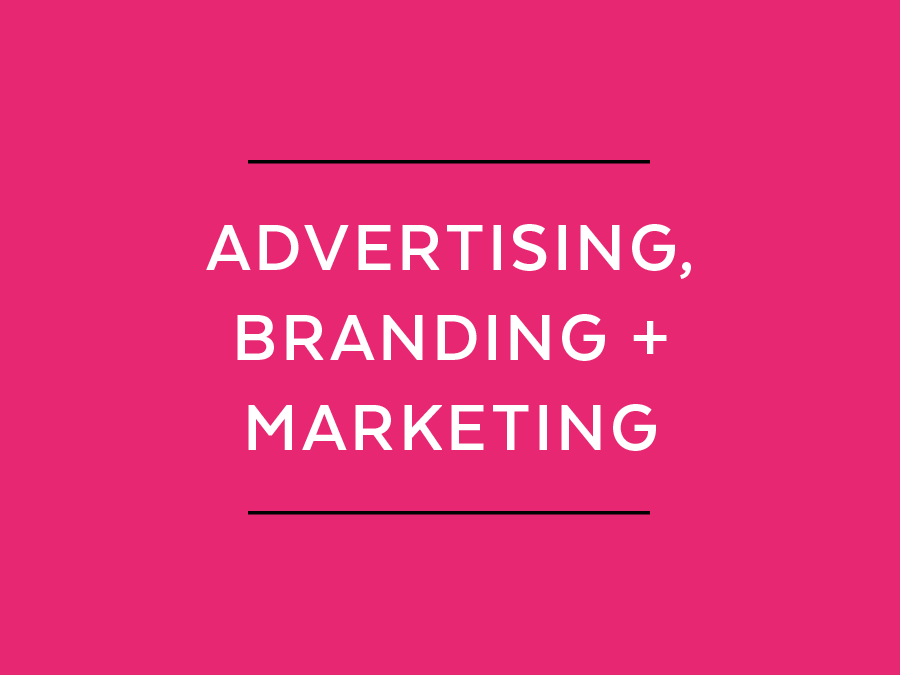 Advertising branding and marketing