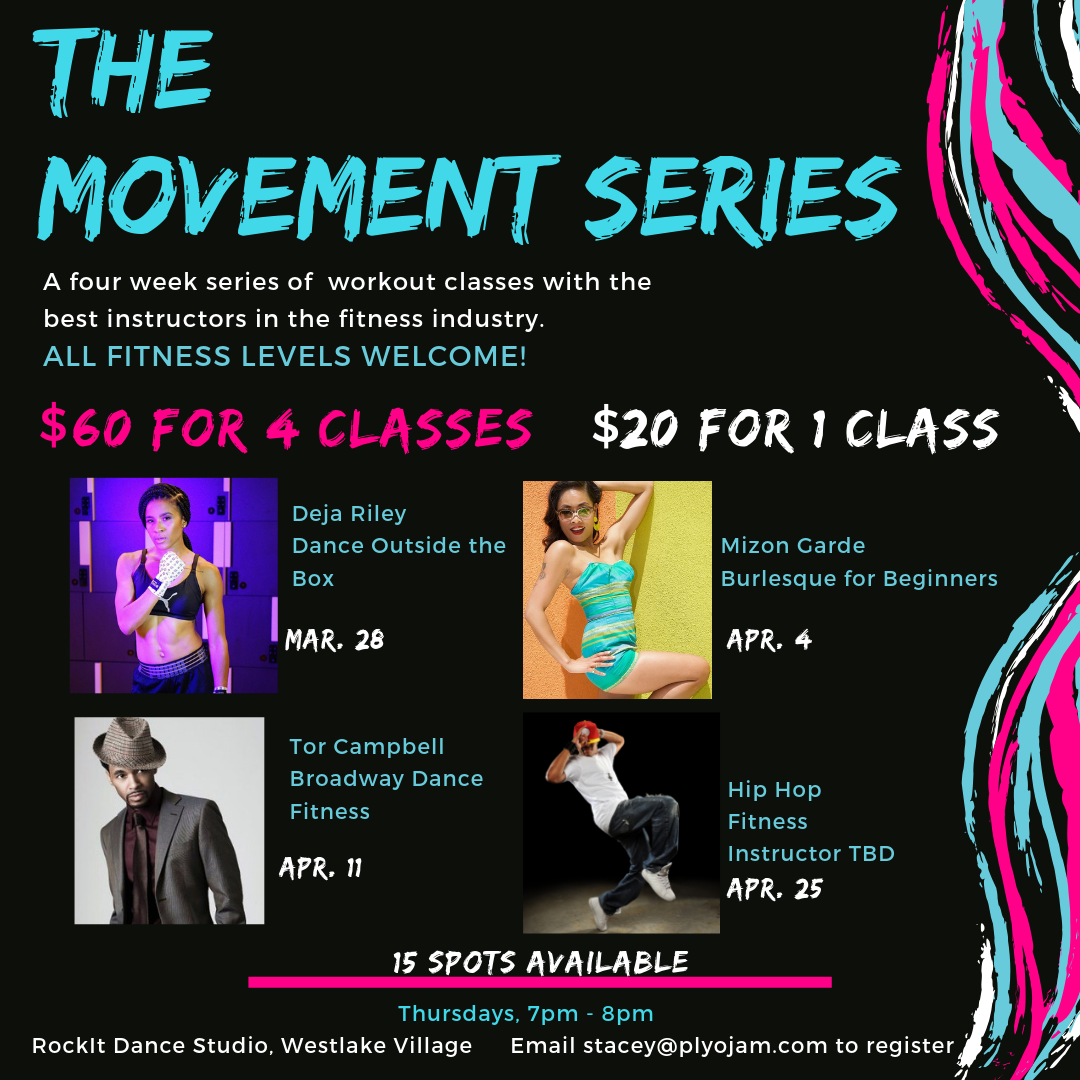 The Movement Series by Stacey Beaman, co-founder of PlyoJam