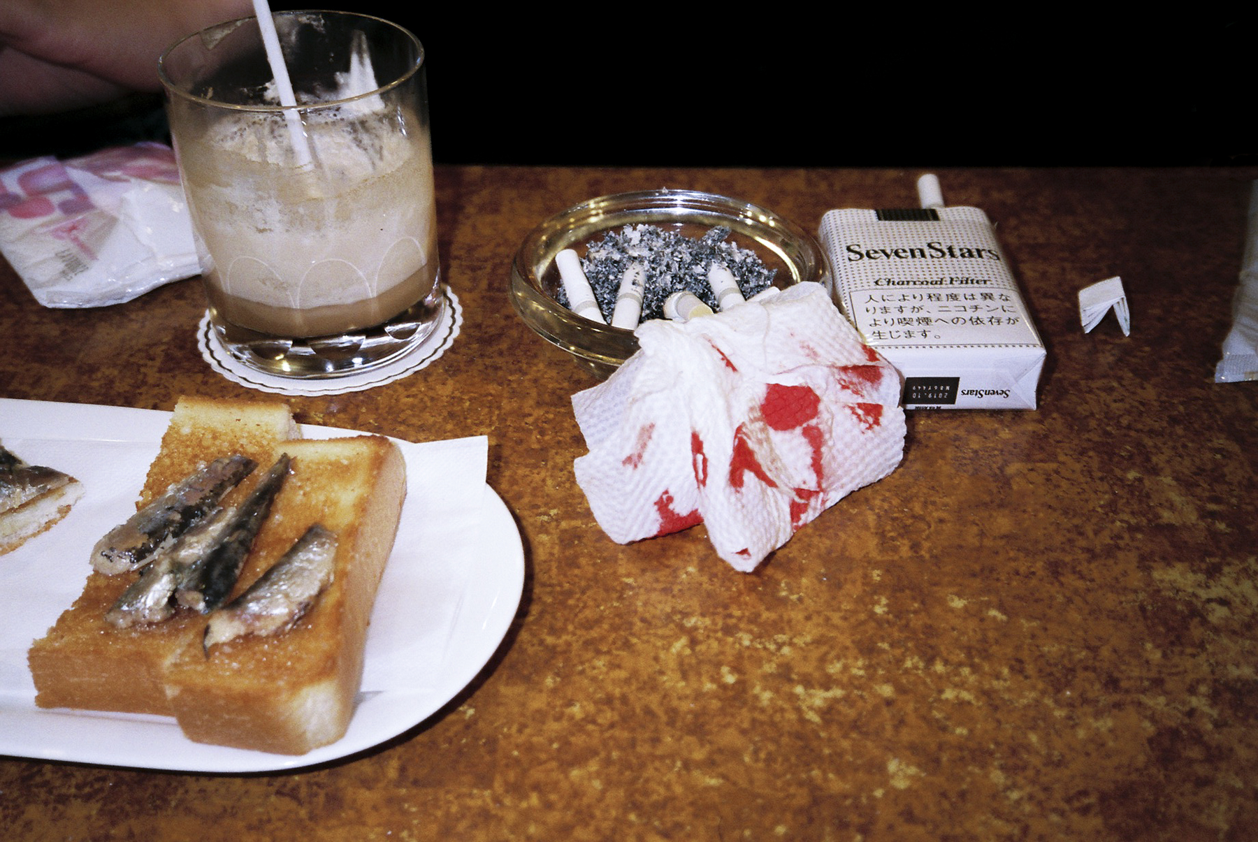 Cafe with bleed