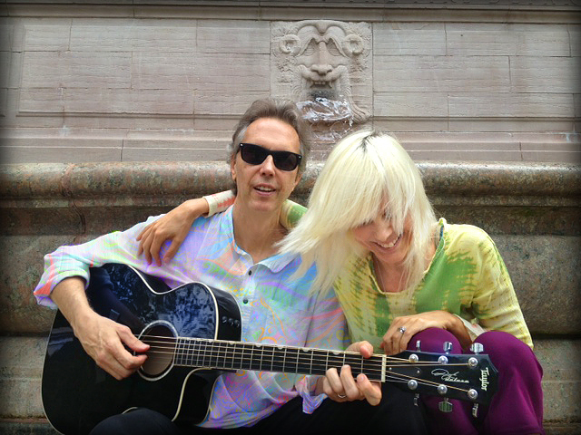 Martin John Butler and Janet Dailey Butler's shoot for their Naam Music Project Mantra CD