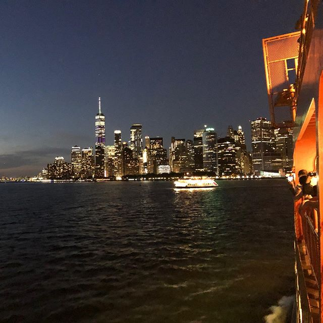 Obligatory Staten Island Ferry ride while in NYC.