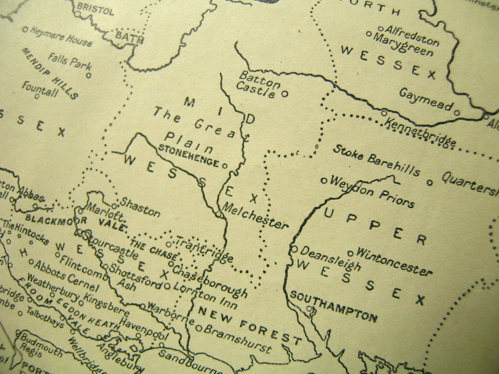 Make a map to your paper with a 3-part outline.