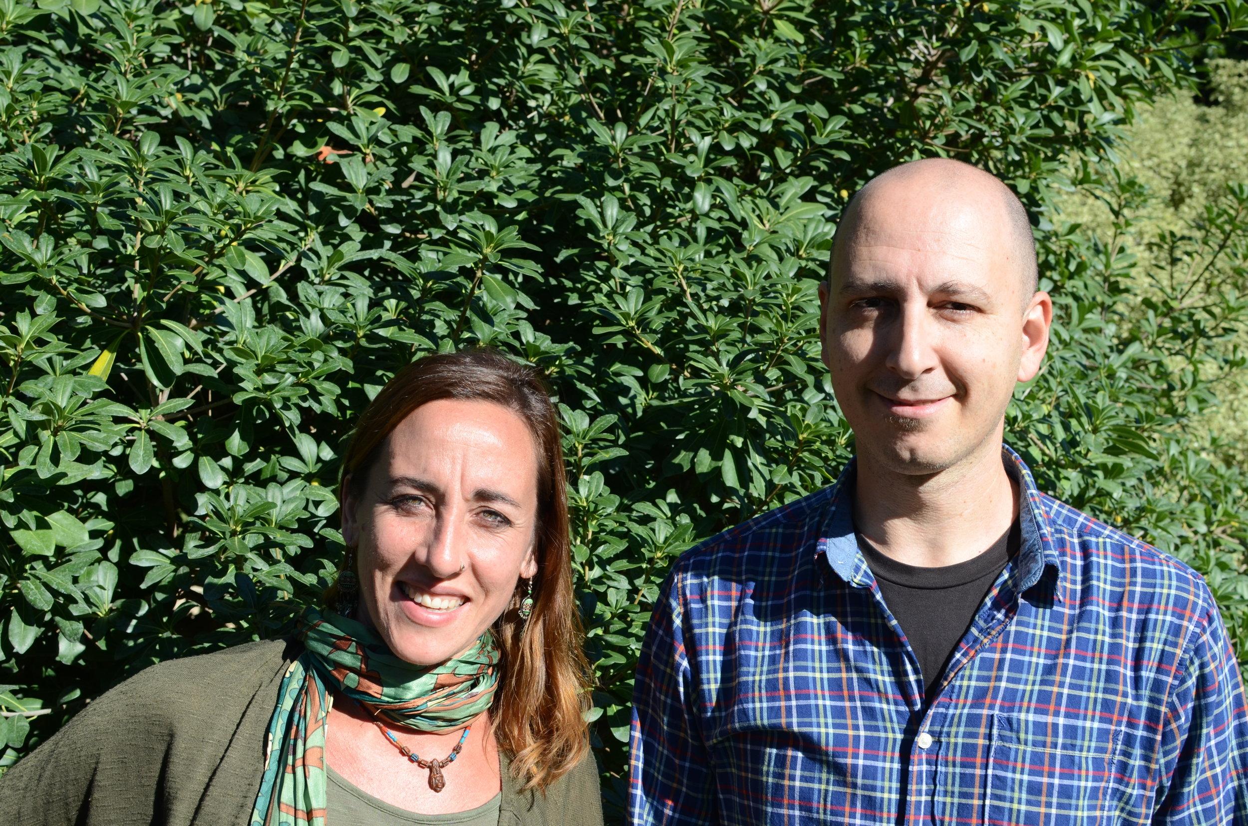 Sofía Masciano y Ciro Berenguer