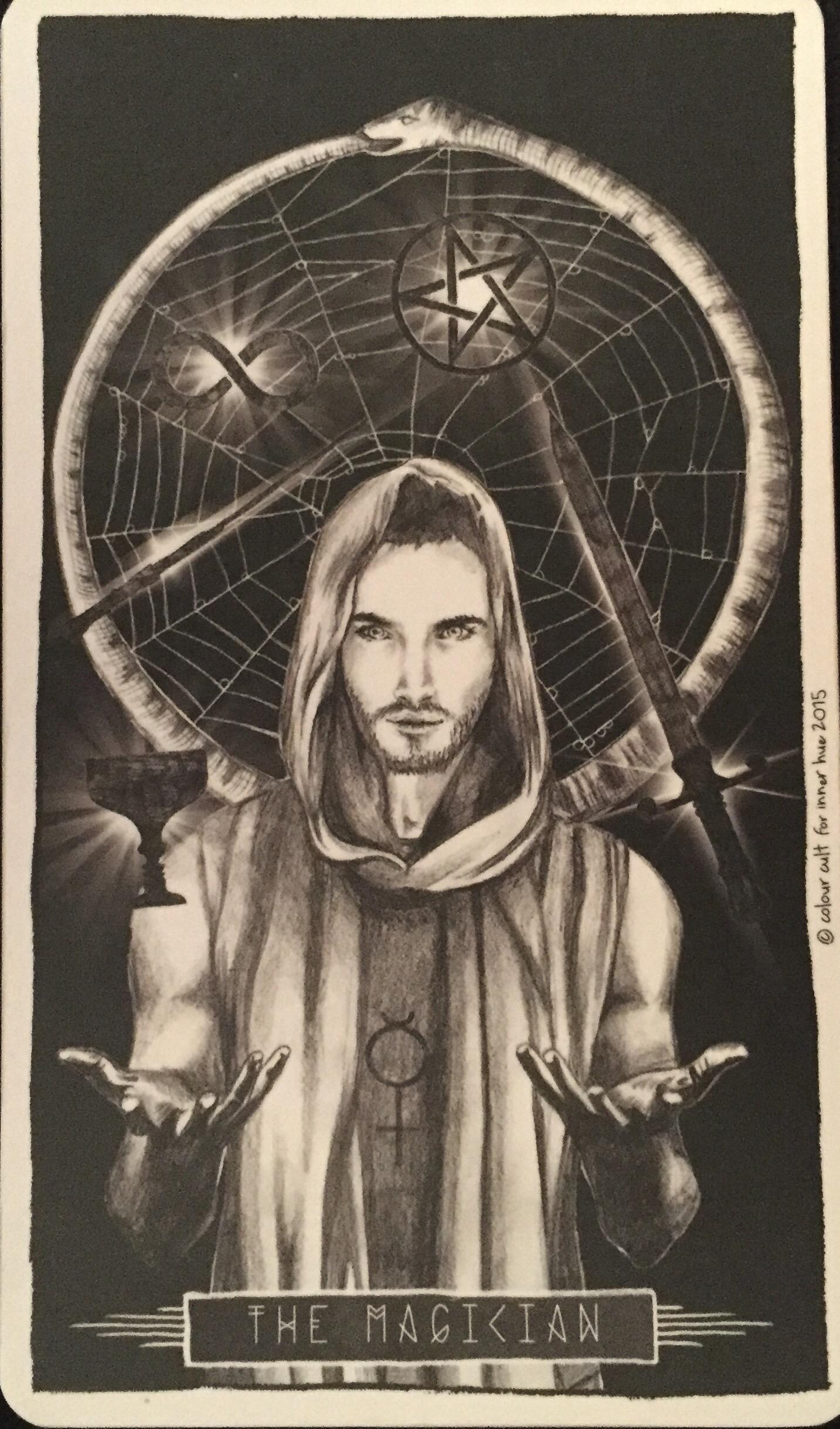 The Magician | Lumina Tarot, Inner Hue 2015