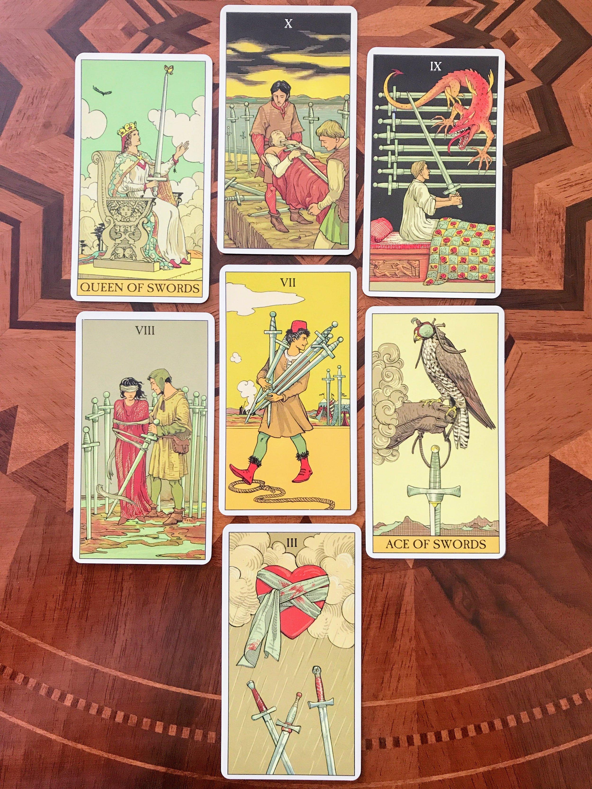 After Tarot - Favorite Swords Cards