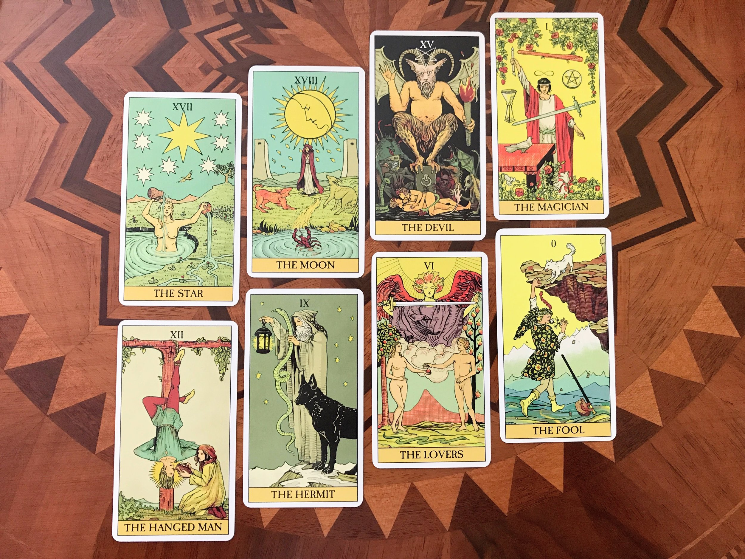 After Tarot - Favorite Major Arcana Cards