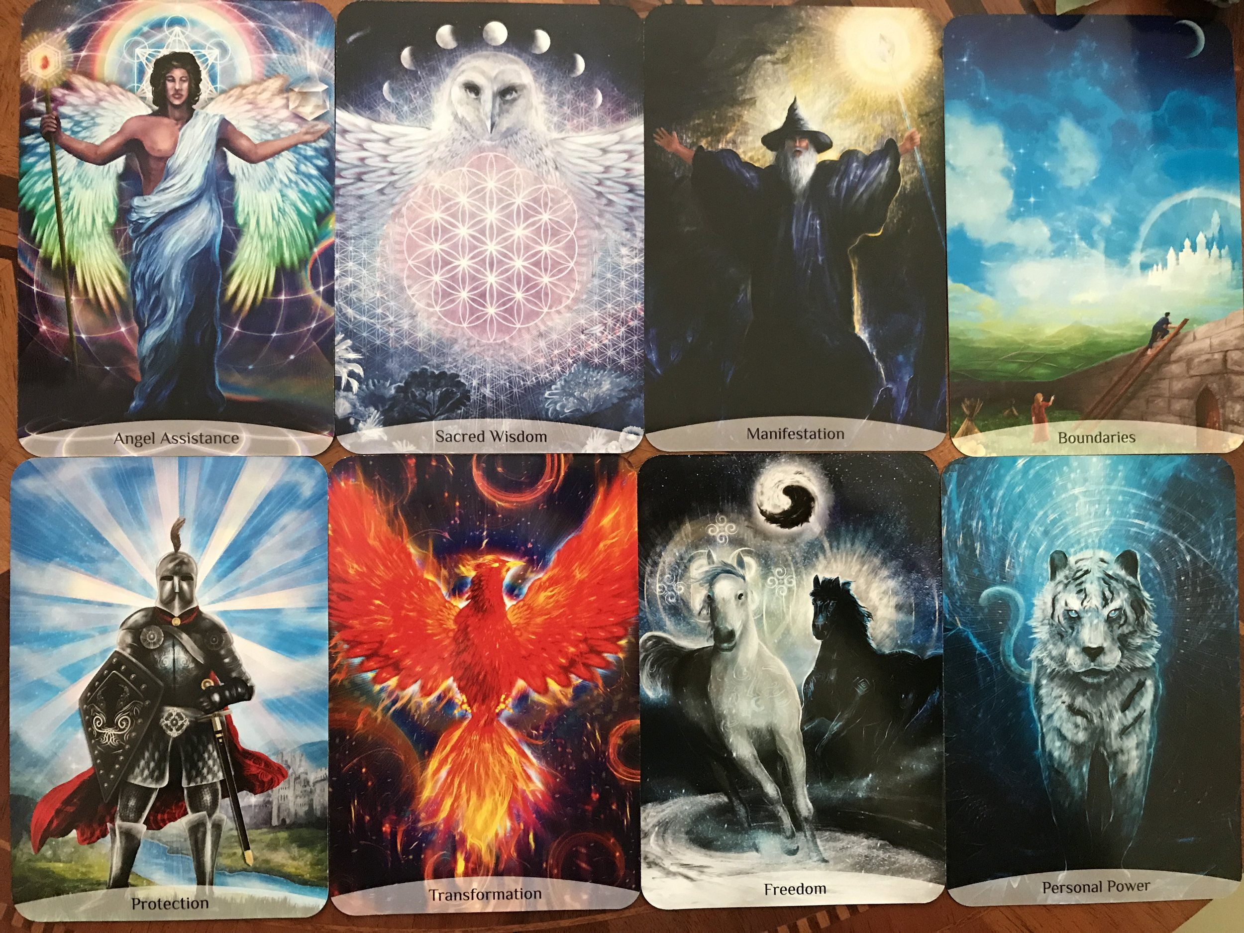 Deck: Sacred Power Reading Cards by Anna Stark (Rockpool Publishing, 2017)