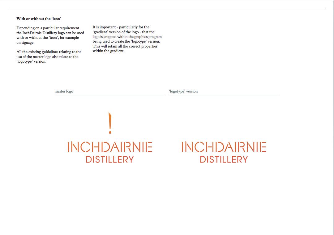 The InchDairnie Distillery website