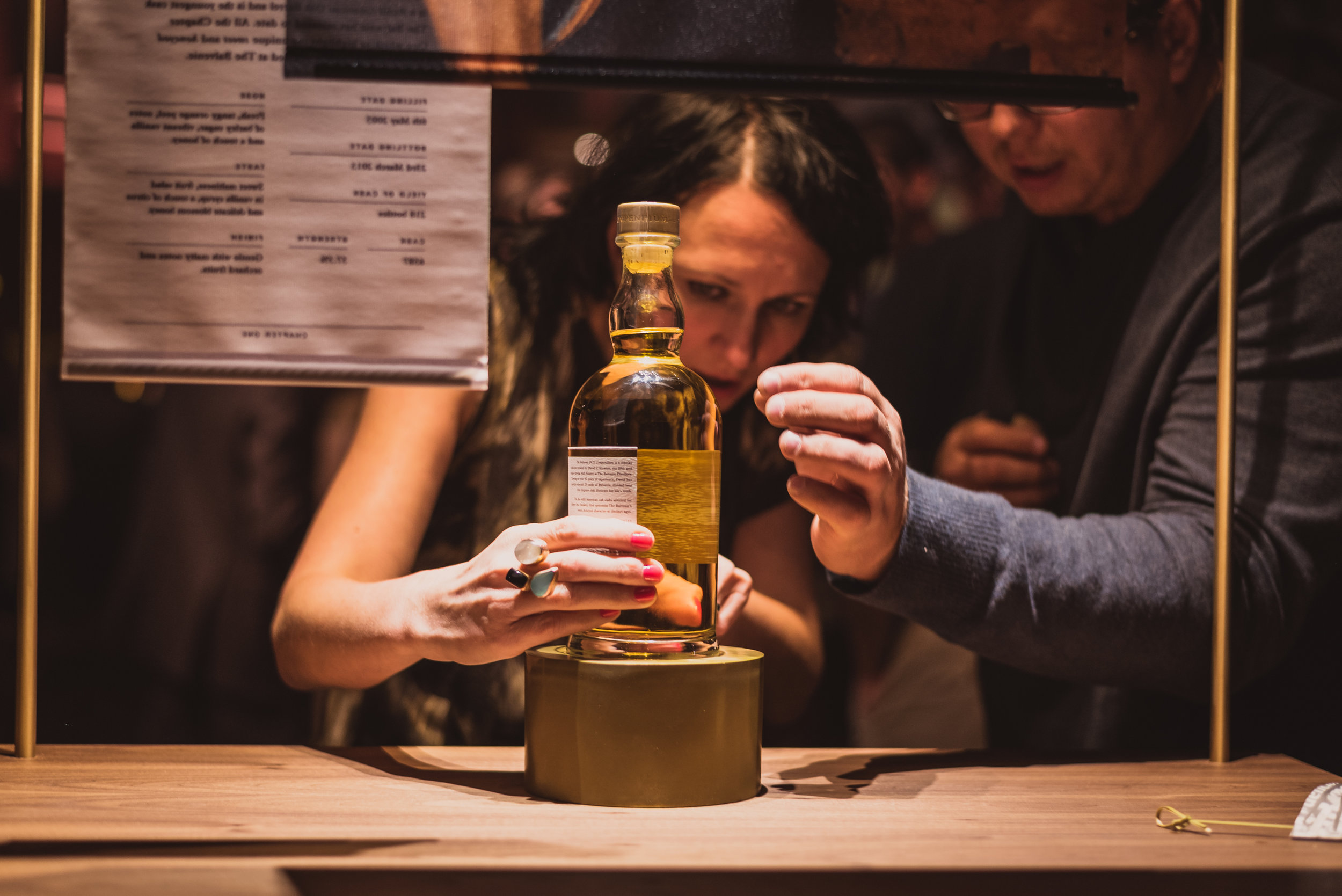 The handcrafted single malt crafted at The Balvenie requires careful handling.