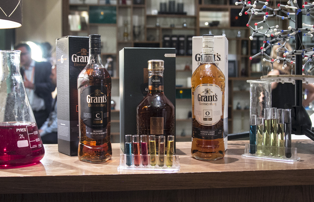 Launch of the Elementary range for Grant's