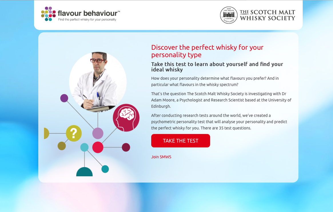 The campaign drove more than 10,000 people to the Flavour Behaviour site.