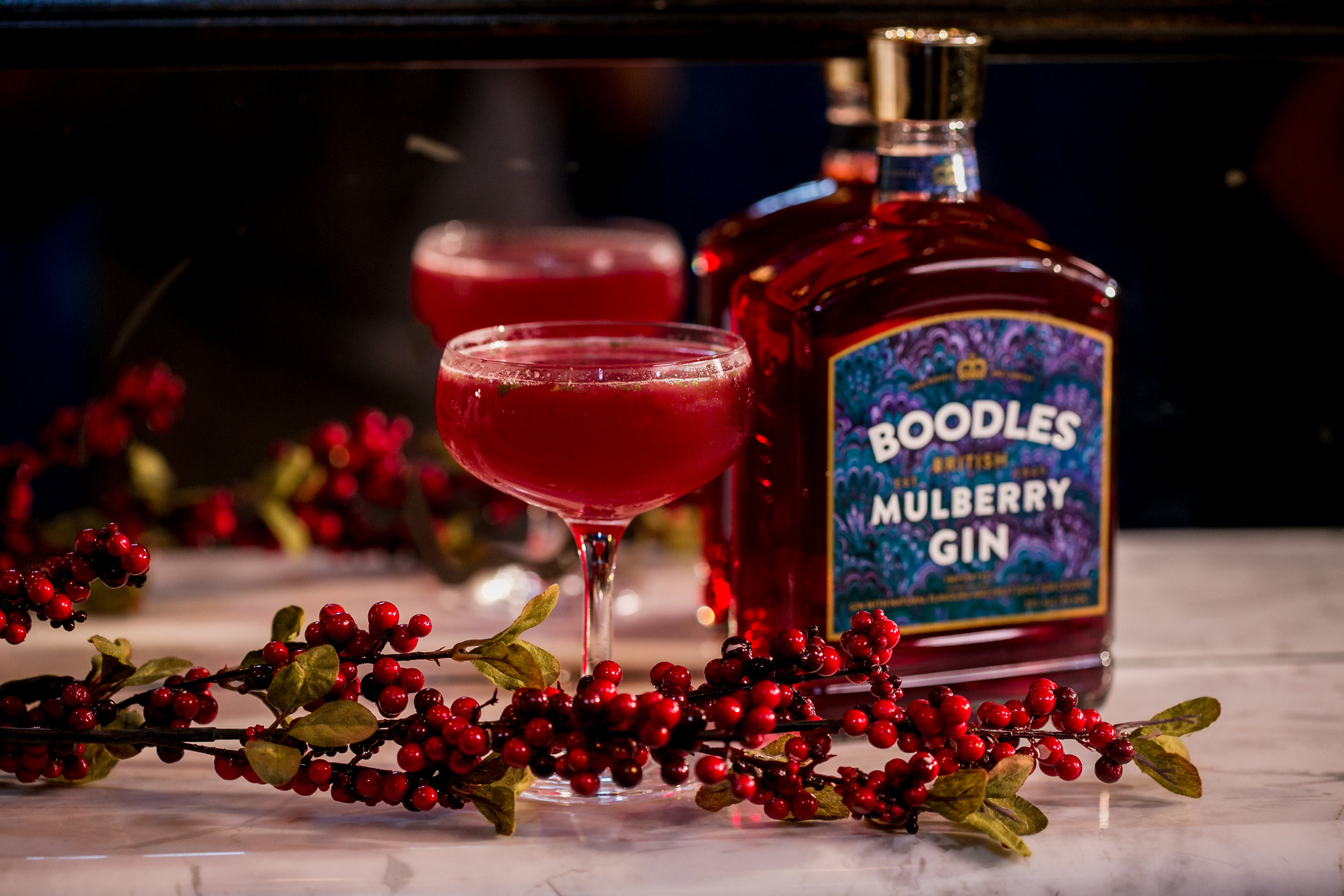 Public Relations for Boodles Gin.