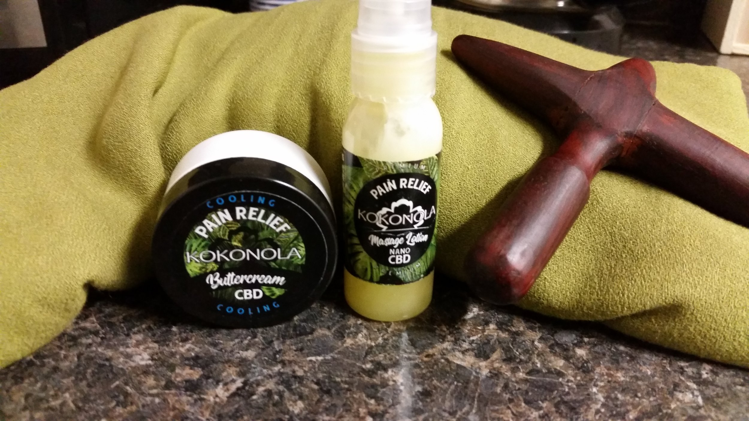 Pain Relief Home Kits - Care kits include:Herbal heat pack, CBD Salve or Creme, Fascia tool for self-care and demo/instruction on home use.  $85