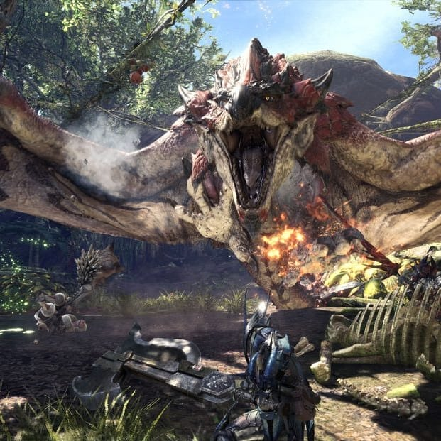Monster Hunter World Episode is now live! Check it out! We talk about the monsters and their connections to real animals and as usual much much more! #mhw #monsterhunterworld #monsterhunter #videogames #gamer #gamesvsreality
