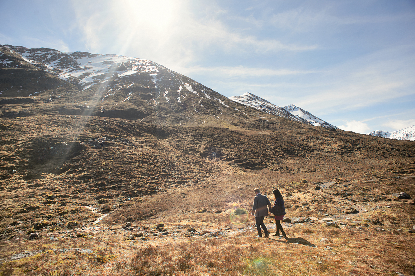 Wedding videography in the Scottish Highlands, Glencoe