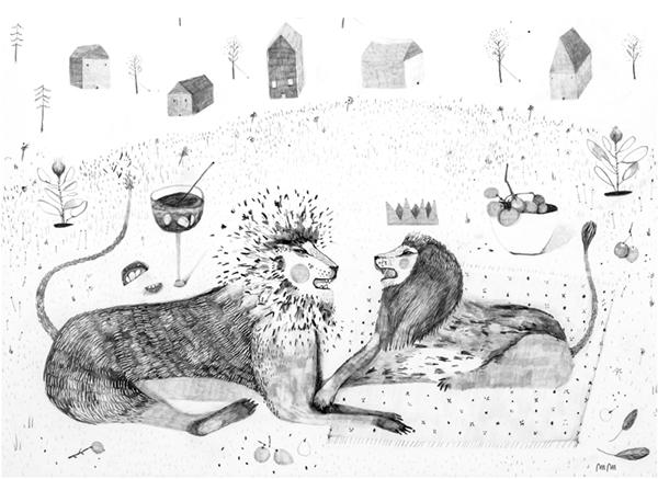 mariamontiel leones.jpg