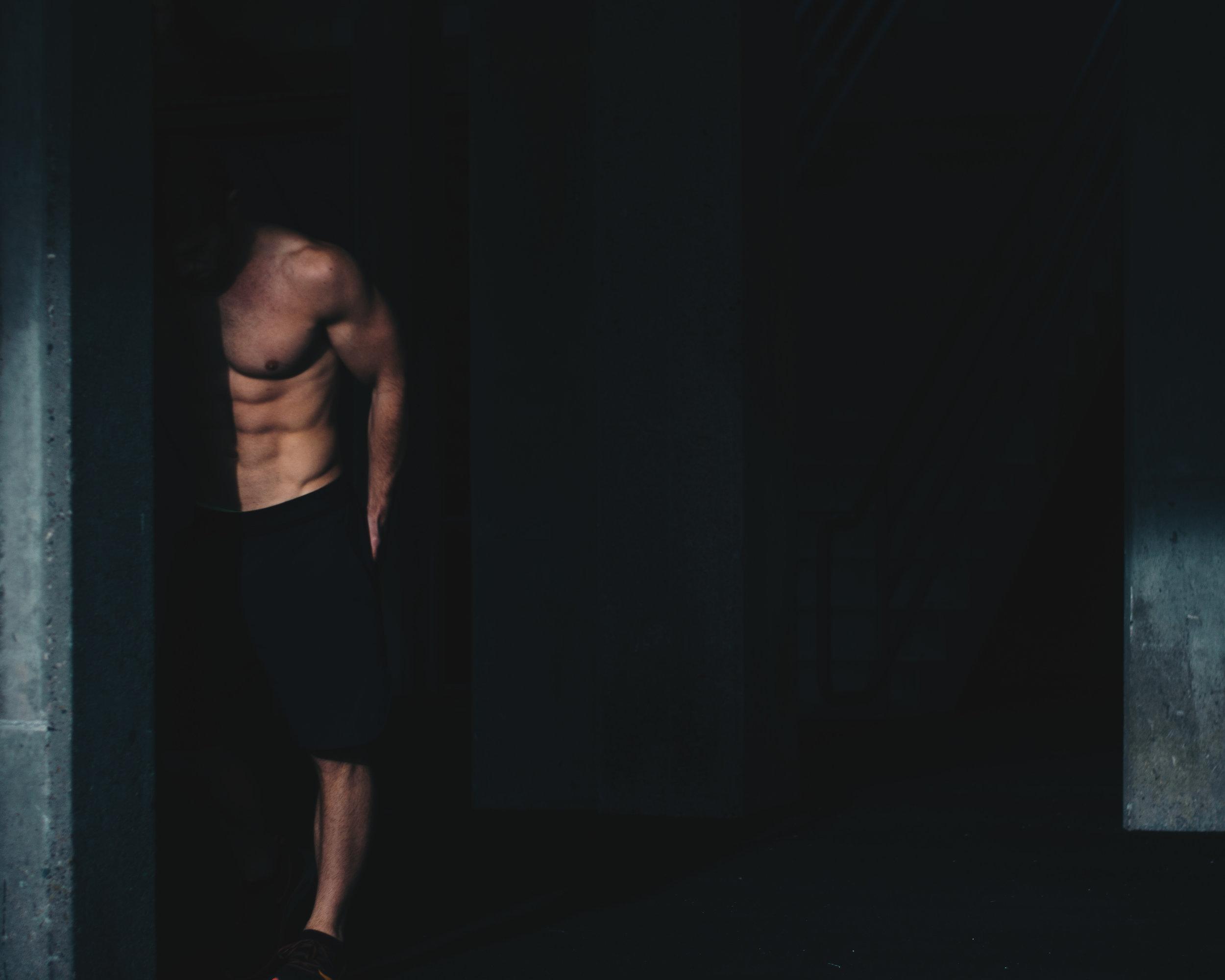 model in fitness photos: David Marshall, Boston MA