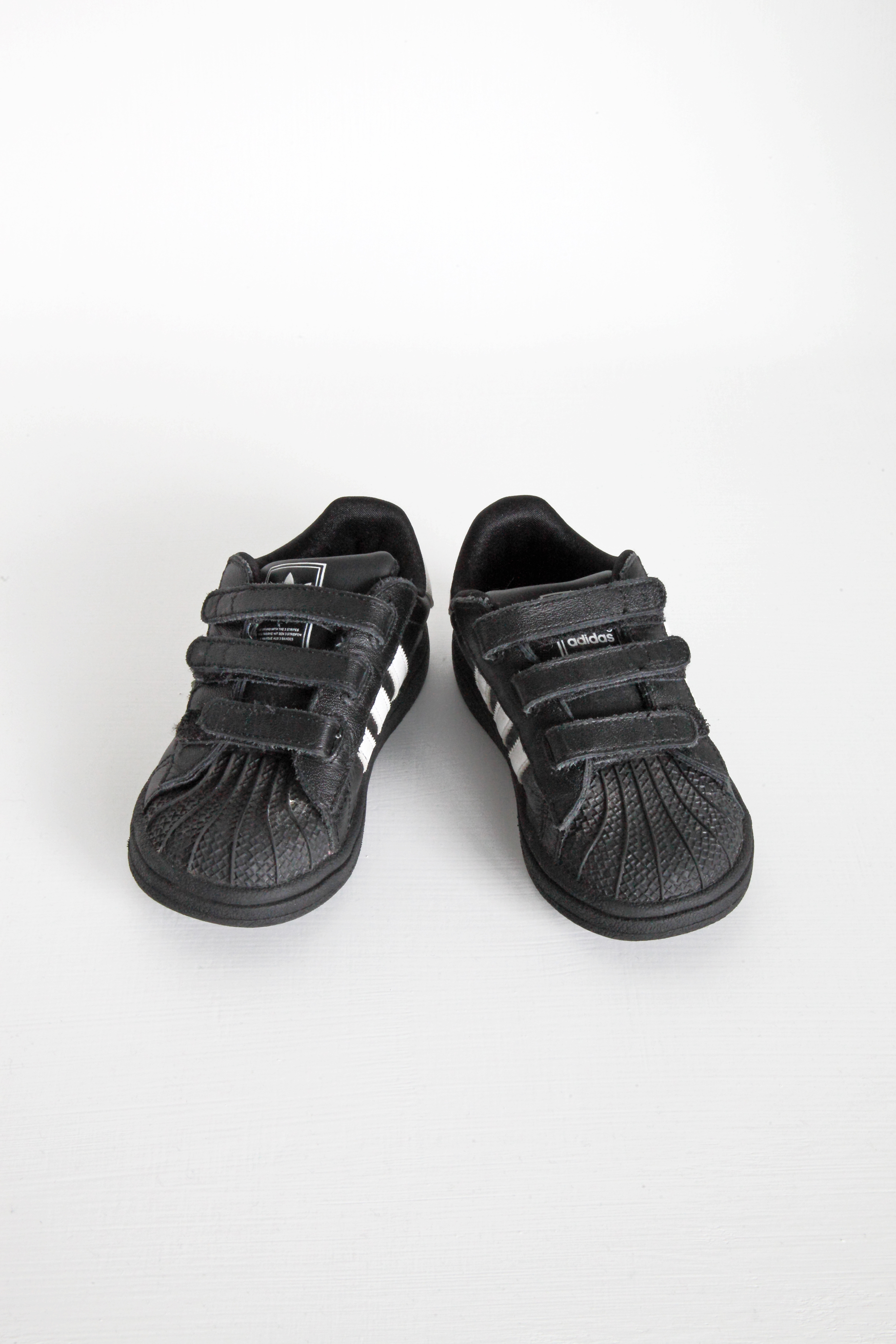 Black Trainers - Adidas - Size 7.5