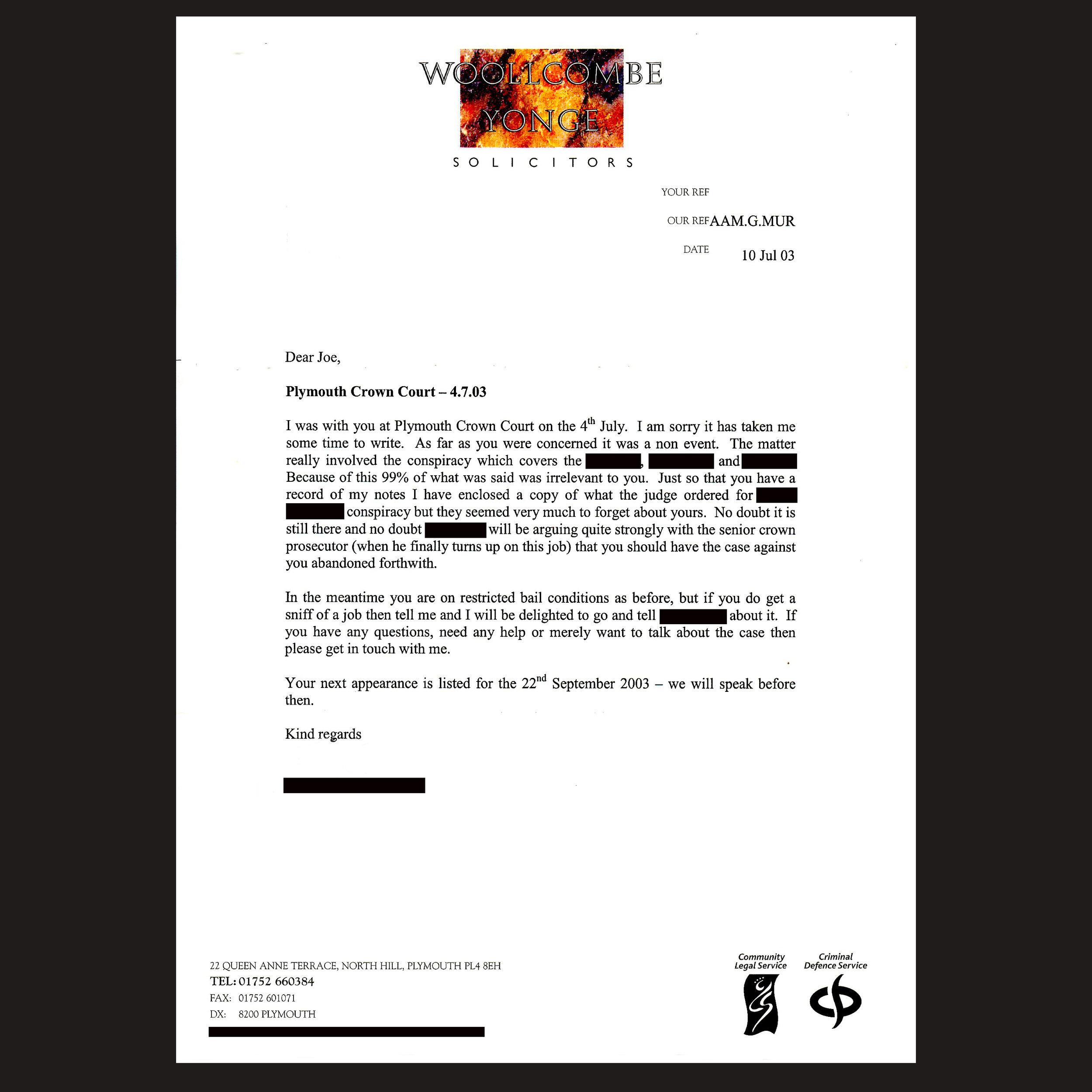 JM Bail 127  - Solicitor Letter 3 - July 2003 - 99% Irrelevant.jpg