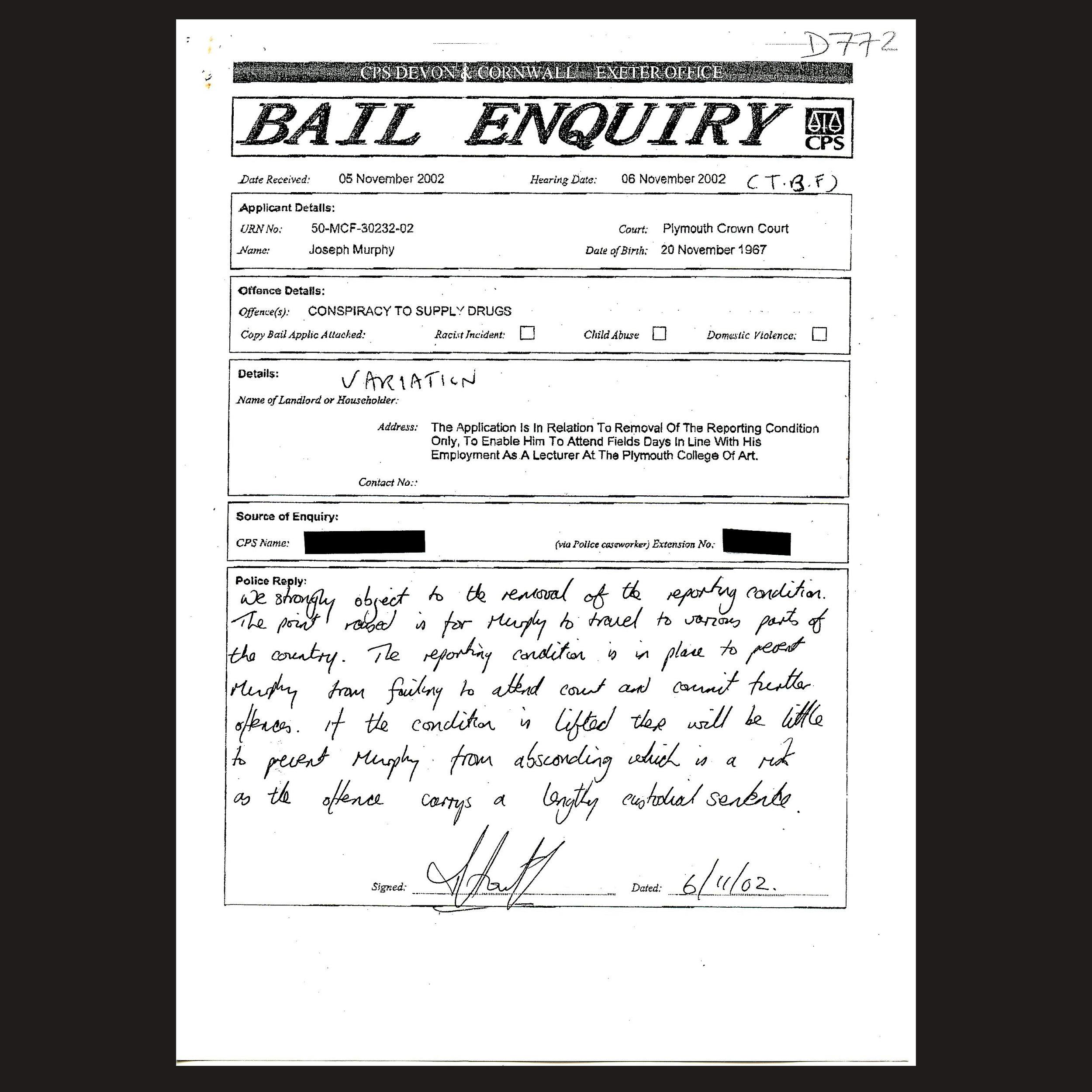 JM Bail 130 - Bail Variation Objection - Nov 2002.jpg