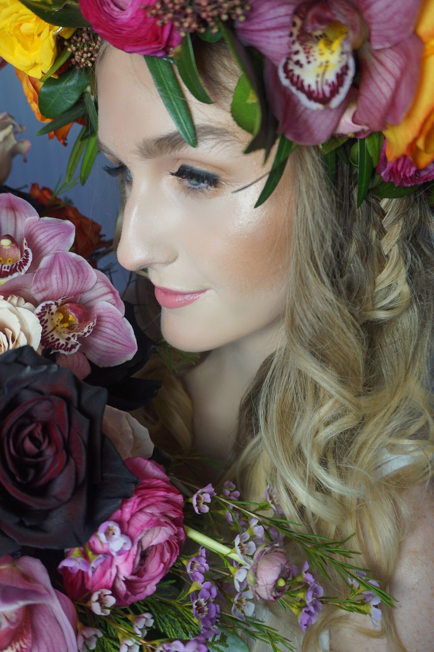 Beauty by Sacha - Floral Shoot