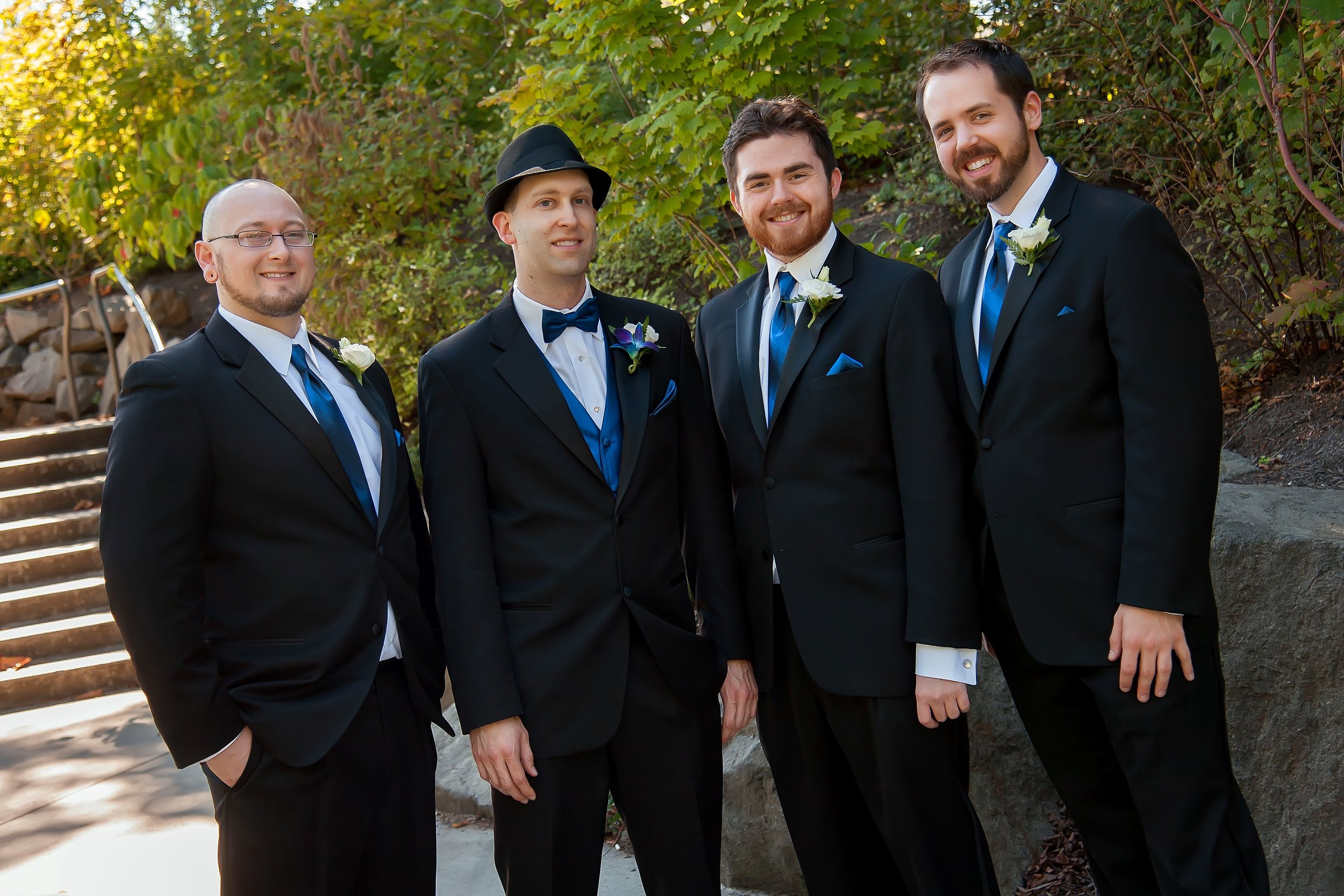 Groom & Groomsmen in a Line.jpg