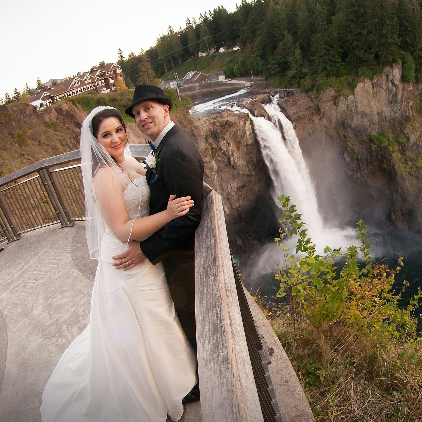 Bride & Groom Infront of Waterfall.jpg