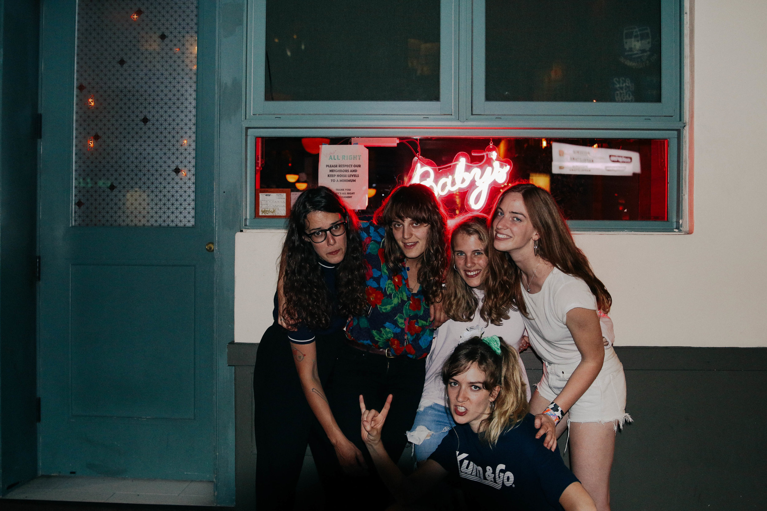 Marika Hackman and The Big Moon After Their Last Show of The Tour!