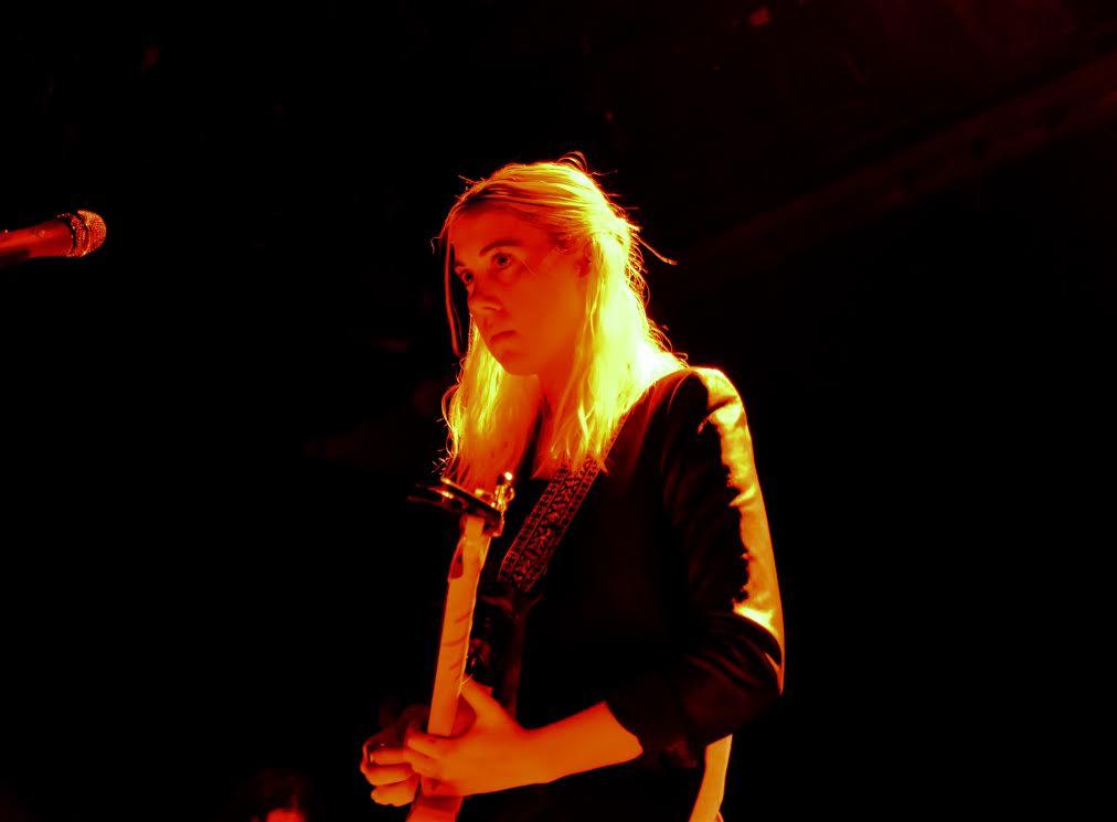 Torres performing in Williamsburg
