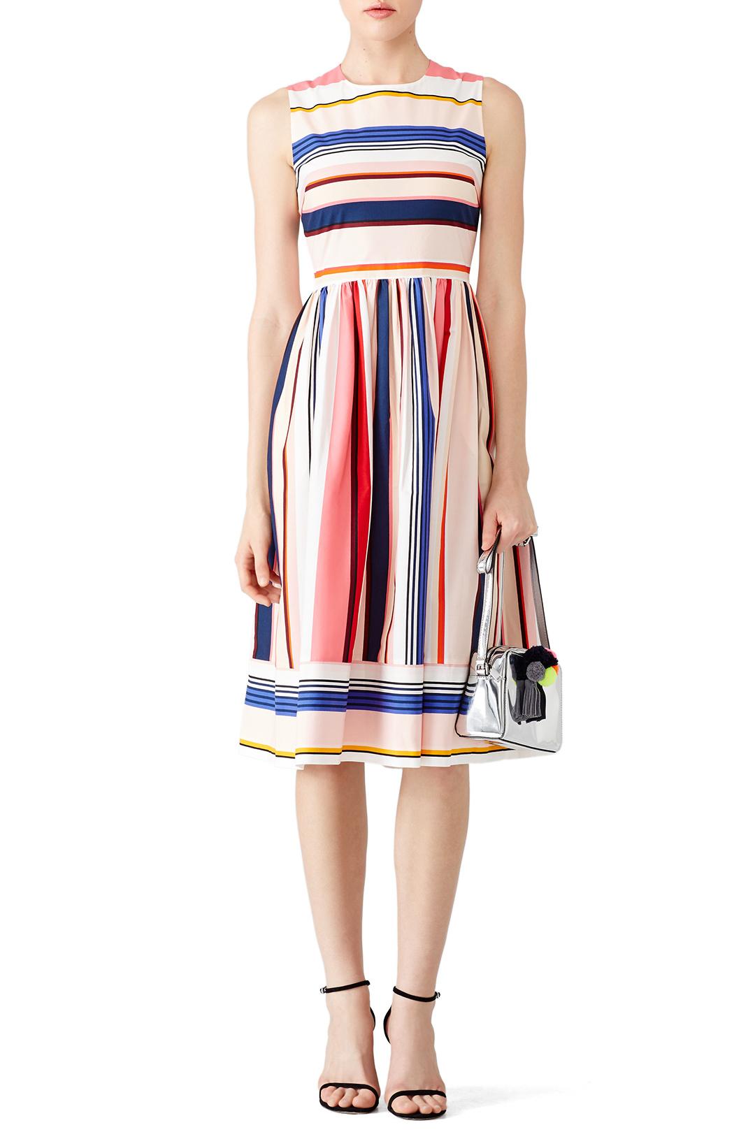 Kate Spade Striped Berber Dress