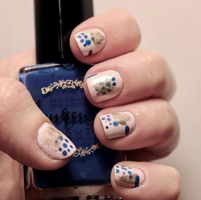 New on the blog! Abstract nail art ft. @laurenbbty! #nailart #beautyblog