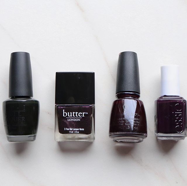 Moody hues for fall. What's your go-to?