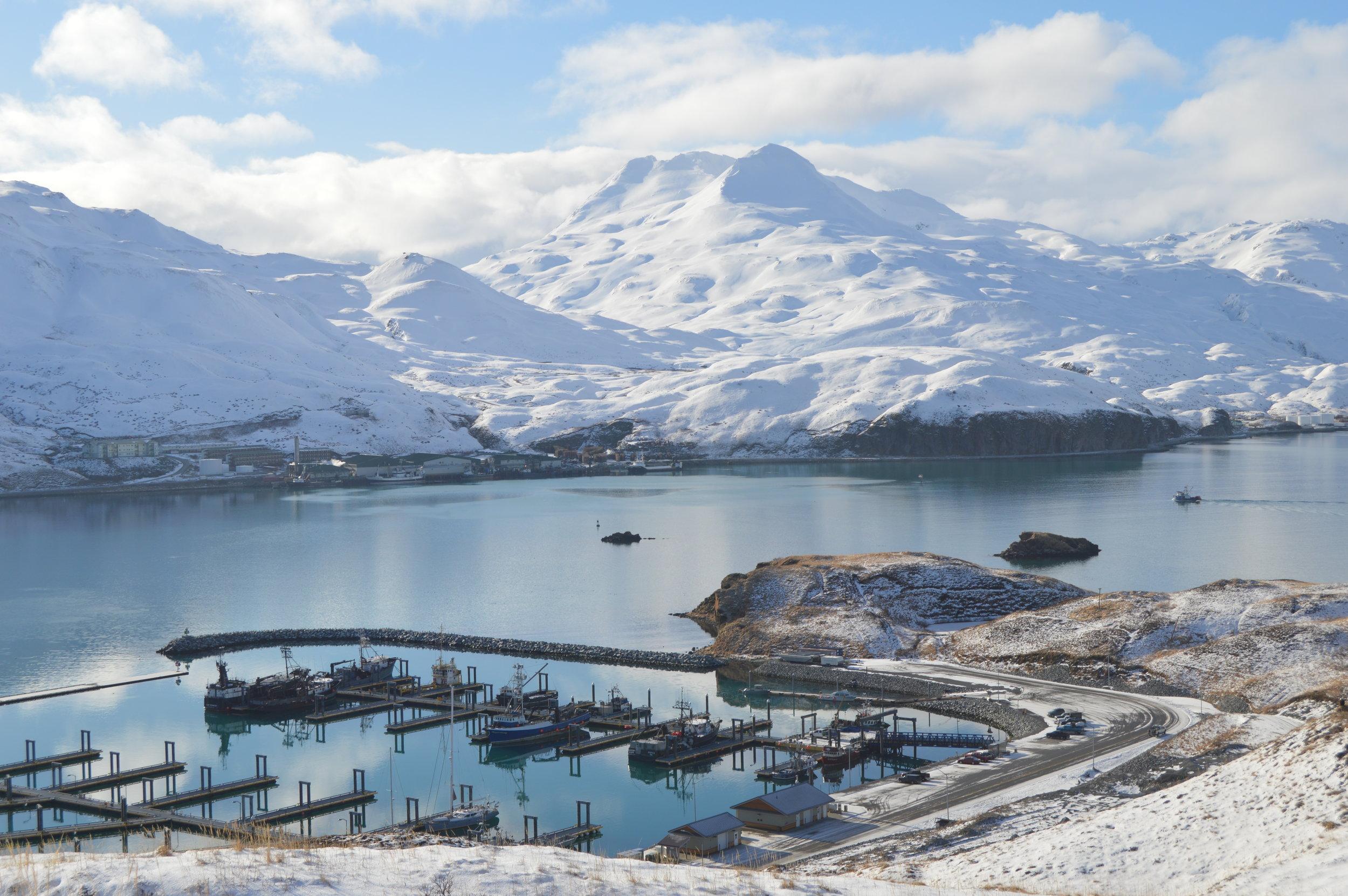 City dock, Unalaska