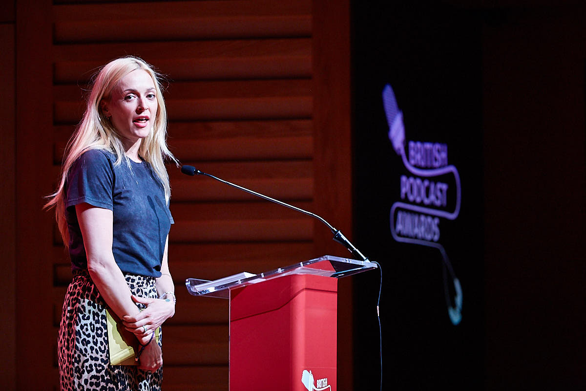 Fearne Cotton, announcing the winner of Best New Podcast 2018.