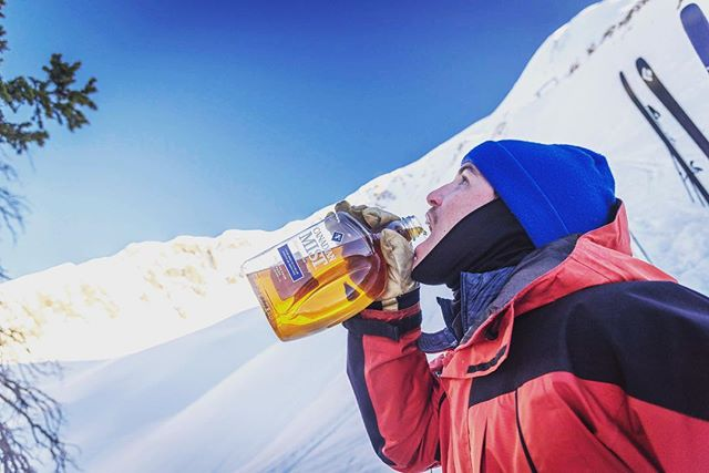 Wise advice when it comes to winter camping: - bring only the bare essentials, ounces add up in the backcountry. - Whiskey weighs nothing, bring as much as you can carry
