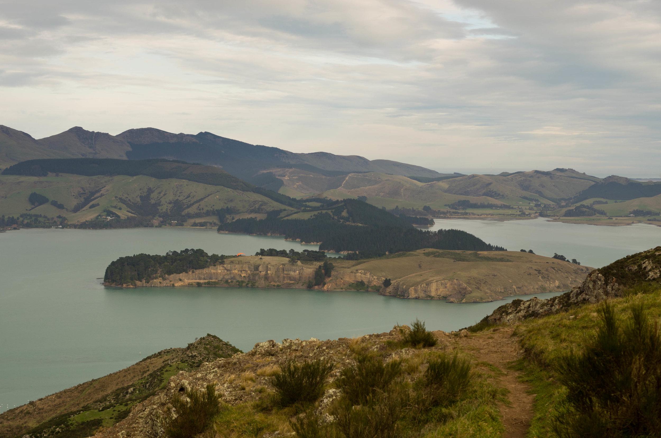 Quail Island and Lyttleton Harbour, New Zealand