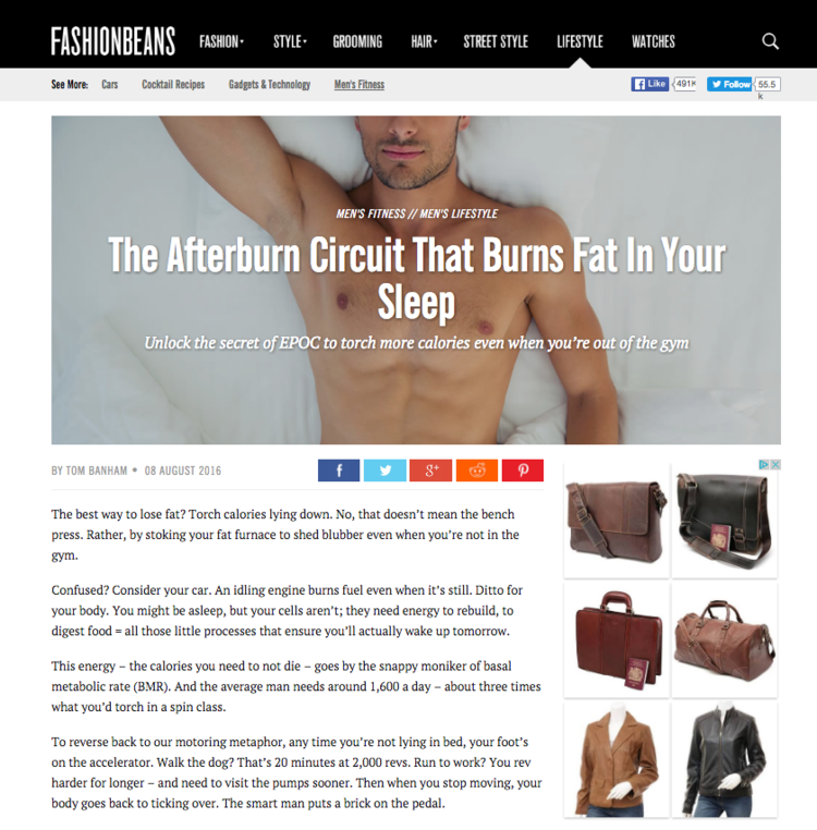 P4 Body Co-Founder Dylan Jones The afterburner circuit