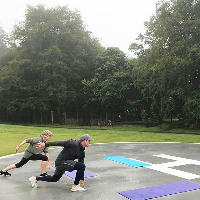AN awesome time had by all...team #p4body delivering sessions at the incredible @thegleneagleshotel We've been blown away by so many amazing, inspiring and super fit people we've been lucky enough to meet this week....thanks to the team there who made it all run so smoothly 😃 - - - - - - - #p4body #gleneagles #gleneagleshotel #teamp4 @lindajonesp4 #scotland #trip #2019 #personaltrainer #fit #inspire #results