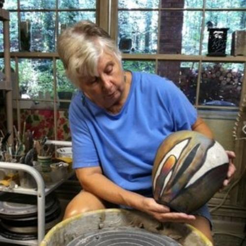 Ann Wallin- Ceramics, Raku, Mixed Media