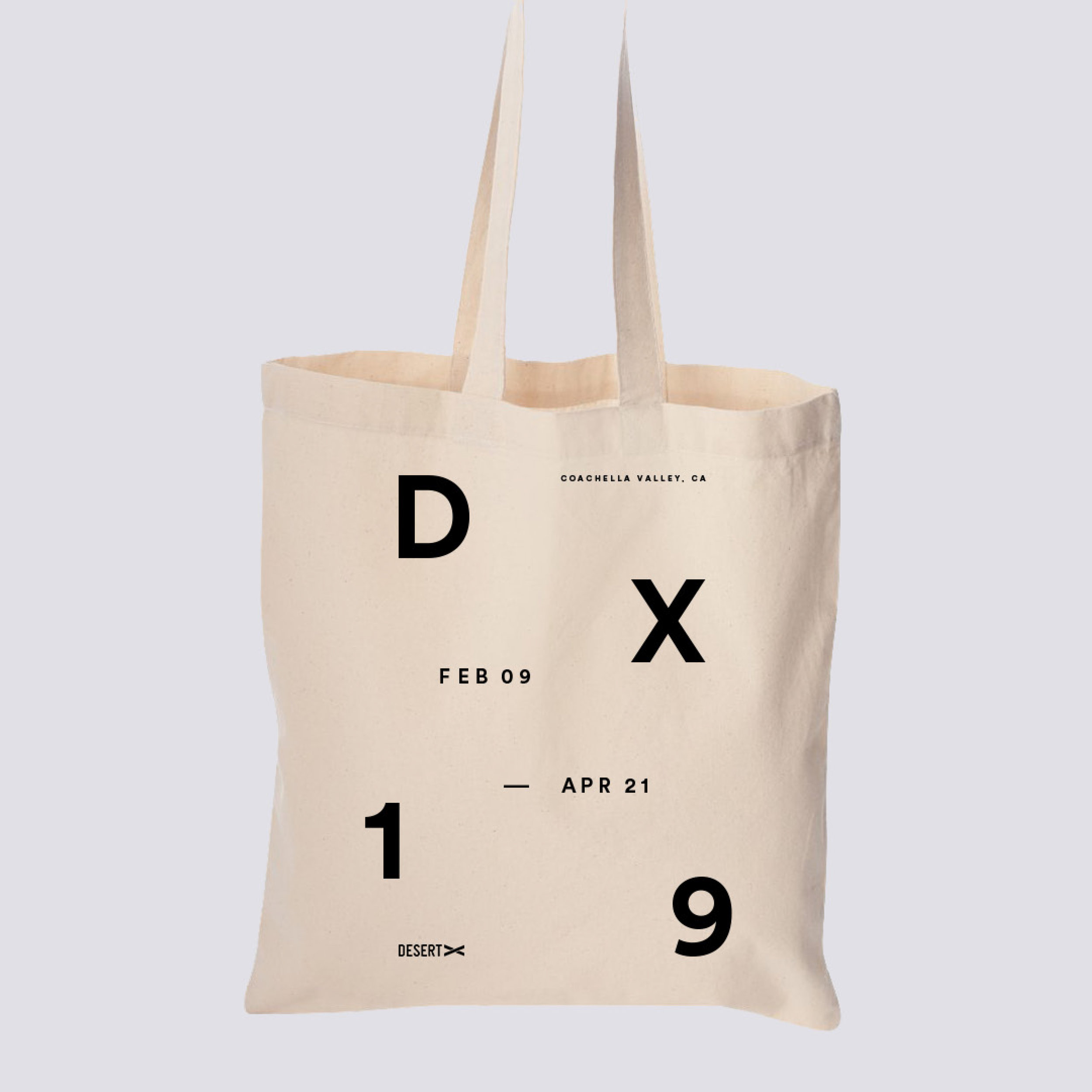 Canvas Tote Bag Desert X