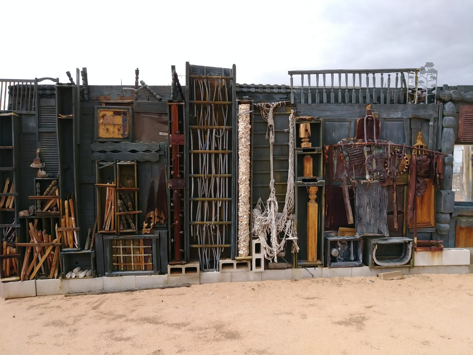 Noah Purifoy Outdoor Desert Art Museum of Assemblage Art - 63030 Blair Lane, Joshua TreeOpen daily sunup to sundown